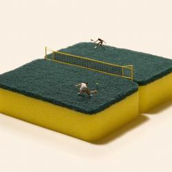 Cour de tennis